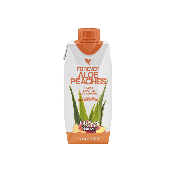 Aloe Peaches-330ml (12 τμχ)